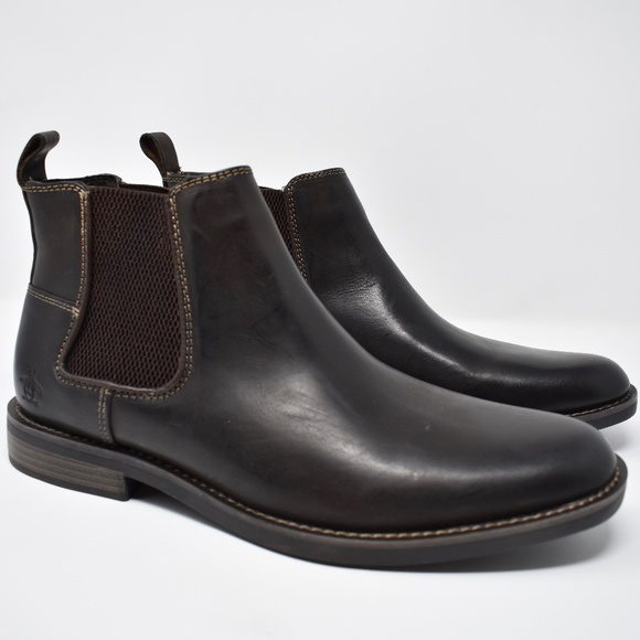 fb84030b0351c Original Penguin Hayden Brown Leather Chelsea Boot